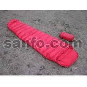 爱水电 SA-400大红虫轻量羽绒睡袋