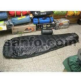 爱水电 SA-400B黑虫羽绒睡袋