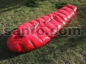 爱水电 大红虫系列SA600羽绒睡袋