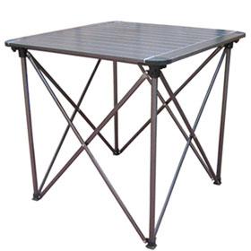 多为 高品质铝合金折叠铝桌