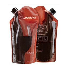 PLATYPUS(鸭嘴兽) 新概念红酒储存袋2010 preserve 800ml 07058