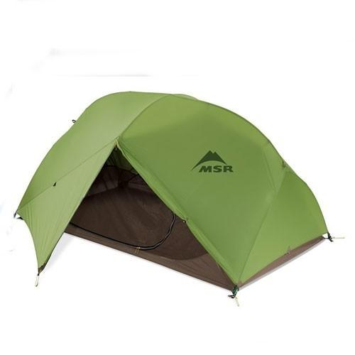 MSR 05143 Hubba 超轻双层单人三季帐篷(绿色)
