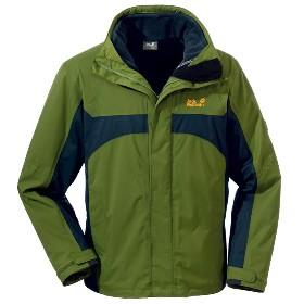 JACK WOLFSKIN(狼爪) 男款三合一冲锋衣-Serpentine Jacket Men 1100961