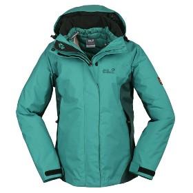 JACK WOLFSKIN/狼爪  女款三合一羽绒内胆冲锋衣-Icy Mountain 5002131