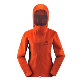 KAILAS/凯乐石 女款3层无缝冲锋衣(玄翼) KG124182
