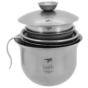 KEITH/铠斯 Ti3910 钛茶具  Ti3910