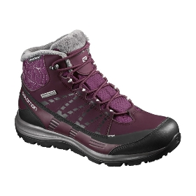 SALOMON/萨洛蒙 女款保暖靴-Kaina Mid CS Wp 2 W 390592