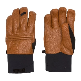NORRONA/老人头 皮料手套 Roldal Dri PrimaLoft Short Leather Gloves 5670-15