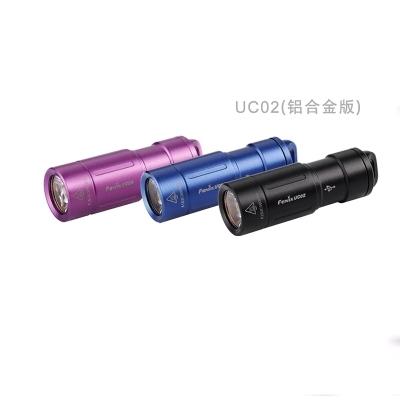 FENIX/菲尼莎 USB迷你钥匙扣充电手电筒 130流明 UC02