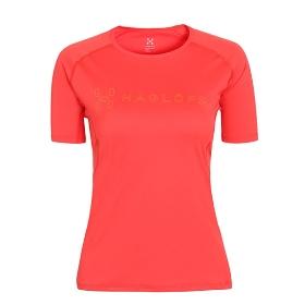 HAGLOFS/火柴棍 603579 女款短袖T恤-Fast Graphic Tee Women