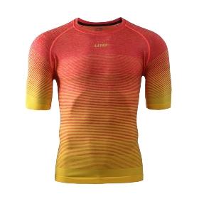 UTO/悠途 974106 彩虹款男士运动短袖衫