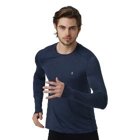 SANFO PLUS STM-18046 男款花火跑步长袖T恤衫-Sparkle Running LS Tee M【2018年春夏新款】