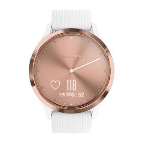 特价 GARMIN 010-01850-62 Vivomove HR 指针式健康运动腕表 运动版M号