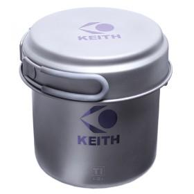 KEITH(铠斯)组合式钛锅KP-6013 (2-3人)