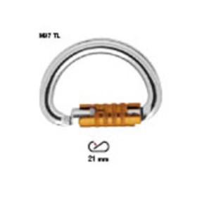 PETZL-OMNI M37 TL半圆自动上锁安全扣