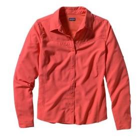 PATAGONIA/巴塔哥尼亚 女款速干长袖衬衫-Ws L/S Sol Patrol Shirt  52200
