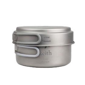 KEITH/铠斯 KP-6016  钛煲 600ml+950ml