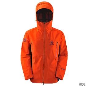 KAILAS(凯乐石)  男款3层无缝冲锋衣(玄翼) KG114212