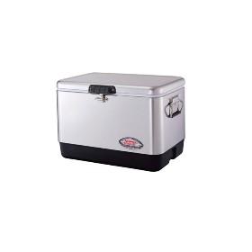 COLEMAN  (科勒曼)51升不锈钢保温箱-54QT Steel Belt Cooler3000001343