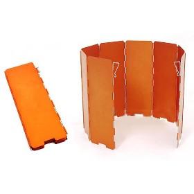 火枫 8片铝合金挡风板-适用于各种炉具 240*680mm FMW-508A