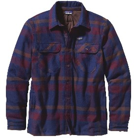 PATAGONIA/巴塔哥尼亚 男款棉长袖衬衣 M's Insulated Fjord Flannel Jacket 27640 2014秋冬新款