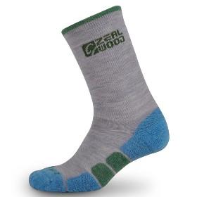 ZEALWOOD 冰锤足底加厚两双装羊毛袜-Icicle 0934
