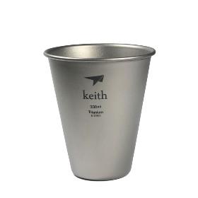 KEITH 钛啤酒杯 TI9001