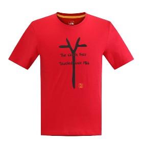 THE NORTH FACE/北面  男款短袖T恤-M S/S CNY Tee-AP CNG7【2015春夏新款】