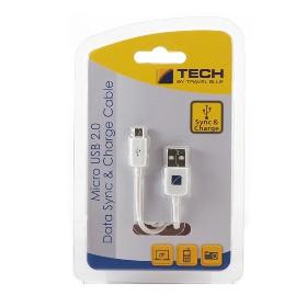 TRAVEL BLUE  微型USB 2.0充电数据线  966