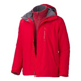 MARMOT/土拨鼠  男款抓绒内胆三合一冲锋衣-Component Jacket  Y40440 【2015春夏新款】