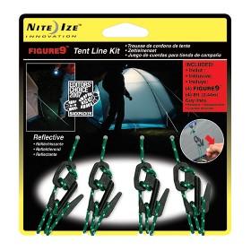 NITEIZE/奈爱  (F9T4-PKG)-01 小号9形钩-4只装带绳 3  F9T4-03