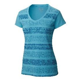 M.HARDWEAR/山浩  女款速干短袖V领T恤-DrySpun Batika V-Neck Short Sleeve OL6580