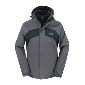 JACK WOLFSKIN/狼爪  男款三合一冲锋衣-Serpentine Jacket Men 1105681