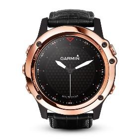 GARMIN/佳明  Fenix 3手表-中文玫瑰金蓝宝石版-不含 010-01338-52