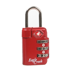 EAGLECREEK  TSA三码锁 4*3cm EC-41018