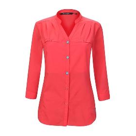 ANEMAQEN/阿尼玛卿 女款V领速干衬衫 ATW-1602