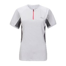 ANEMAQEN/阿尼玛卿 女款半开拉链T恤 ATW-1648