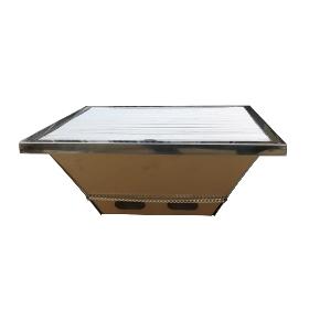 Dowell/多为 不锈钢便携烧烤炉 ND-6203