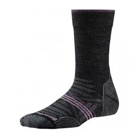 SMARTWOOL  PhD功能性女士户外袜-中筒款-轻量减震型 SW001311