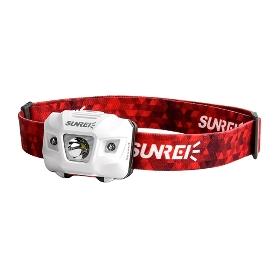 SUNREE/山力士 悦动4户外头灯强光远射LED红光头灯防水徒步登山