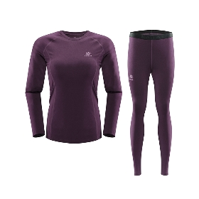 KAILAS/凯乐石  女款coolmax排汗内衣裤套装 DG420012T