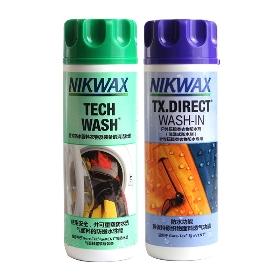 NIKWAX  清洗剂与合成纤维衣物防水剂两瓶套装 300ML*2 103