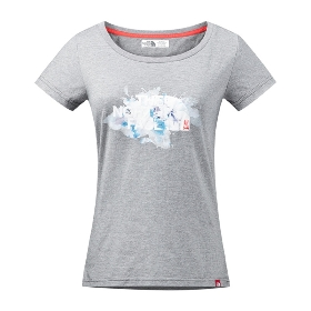 THE NORTH FACE/北面 女款短袖圆领T恤 A2XUW