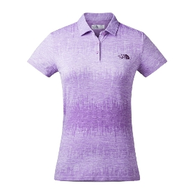 THE NORTH FACE/北面 女款速干短袖Polo衫-Women's Circluar Knit Polo - AP A2XTH 【2017春夏新款】