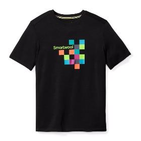 SMARTWOOL 男士运动短袖衫-Merino 150-Logo图案 SW016059