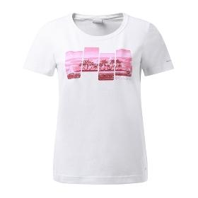 Columbia/哥伦比亚 女款户外雨林印花吸湿T恤 PL2603