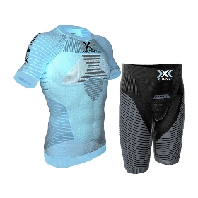 X-BIONIC 男士塑形清爽效能跑步套装XT0O205961【2017春夏新款】