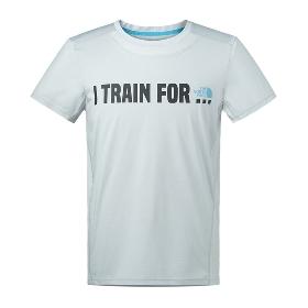 THE NORTH FACE/北面 男款吸湿排汗反光条短袖圆领T恤2SMG
