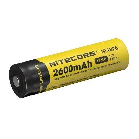 NITECORE/奈特科尔 2600毫安单节充电锂电池NL1826