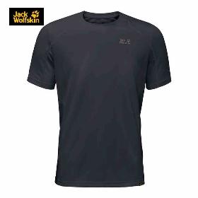 JACK WOLFSKIN/狼爪 1804441 男款短袖T恤-Helium Chill T-Shirt M